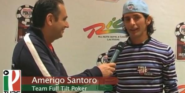 WSOP 2010 Video – Amerigo Santoro al Main Event qualificato su FullTilt Poker