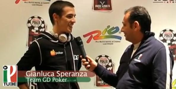 WSOP 2010 Video – Gianluca Speranza