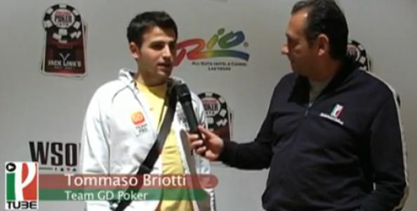 WSOP 2010 – Runner Runner negativo per Tommaso Briotti