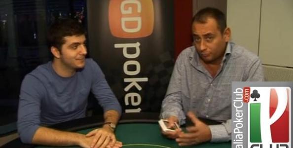 "PokerTips –  Video di alcuni consigli da ""RoccoGe"" Palumbo"