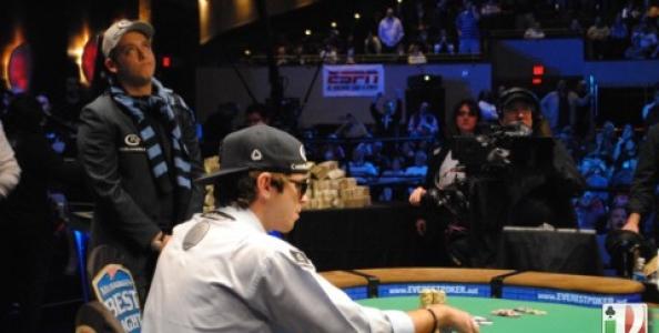 Filippo Candio eliminato quarto al tavolo finale WSOP