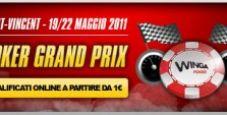 Qualificati al Poker Grand Prix 2011 con i satelliti di Winga Poker