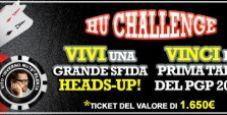 HU Challenge: su Winga Poker in palio la prima tappa del PGP 2011