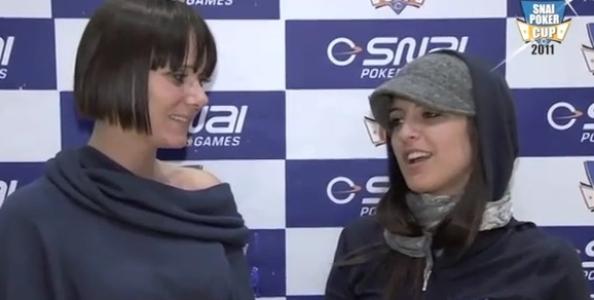 [VIDEO] Adriana Scaravilli alla Snai Poker Cup