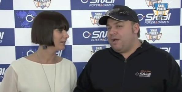 [VIDEO] Gioacchino Dell'Olio settimo alla Snai Poker Cup