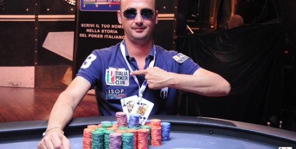ISOP –  Flavio Favilli primo campione al main event delle Italian Series of Poker.