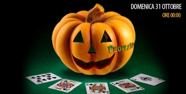 La Mezzanotte di Halloween di People's Poker vale 15.000€