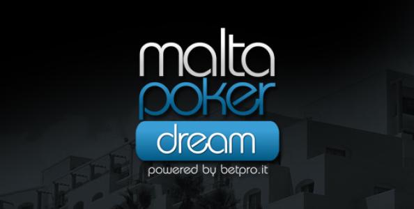 Segui il VIDEO Blog Live del Malta Poker Dream!