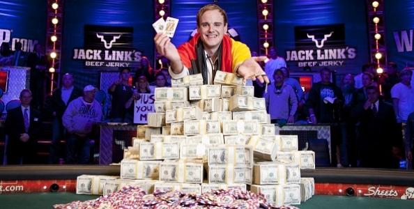 Pius Heinz è il campione delle WSOP 2011!