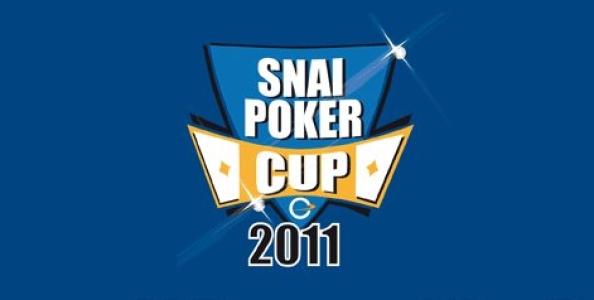 SNAI Poker Cup: è Federico Prevete il campione!