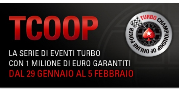 TCOOP Pokerstars: arrivano le Turbo Championship of Online Poker