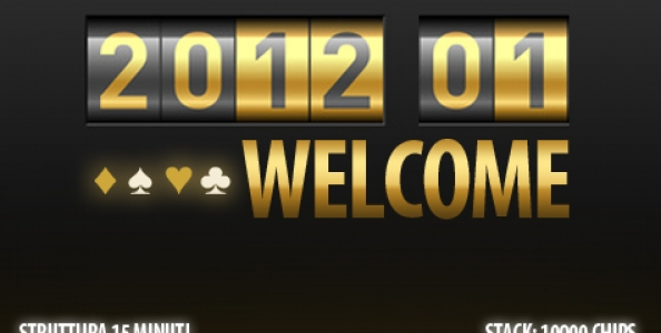 """People's Poker: si avvicina il torneo """"Welcome 2012""""!"""