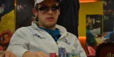 Filippo Candio davanti a tutti alla Notte del PokerClub!