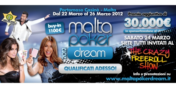 Malta Poker Dream – Marzo 2012