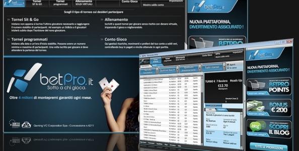 Scopri il VIP System di Betpro Poker!