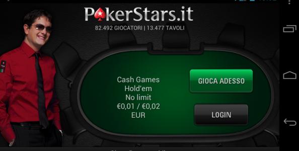 Pokerstars su Android: l'abbiamo provato!