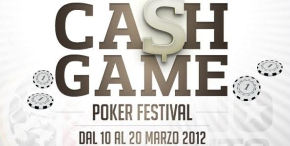 Torna il Cash Game Festival a Campione!