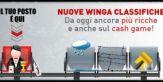 16.500 euro in palio con le Winga classifiche!