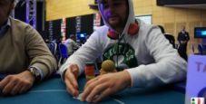 Malta Poker Dream 2012, Nicolaj D'Antoni in testa dopo la pausa cena