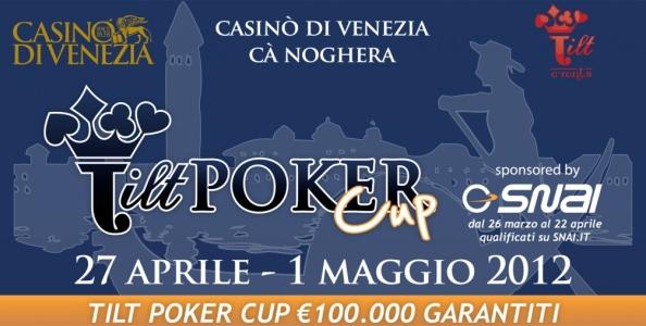 Qualificati su SNAI Poker alla prossima Tilt Poker Cup!