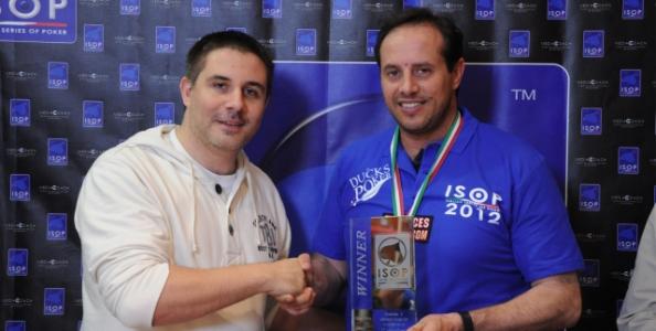 """ISOP – Paolo Della Penna trionfa al """"deep event"""". Sussan secondo"""