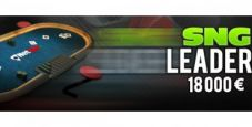 SNG Leader di Netbet Poker: 18.000€ di montepremi nelle classifiche!