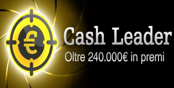 """Arrivano le """"Cash Leader"""" su Titanbet Poker – Più mani giochi, più vinci!"""