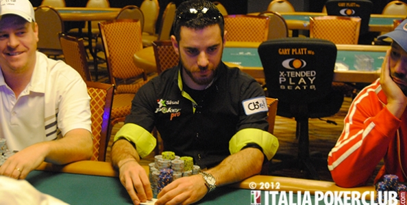 Dario Alioto al tavolo finale WSOP si arrende in sesta posizione