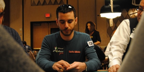 WSOP 2012 – Dario Alioto 11° nel chipcount al Day2 dell'evento #20