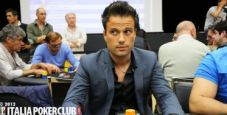IPO – Marco Carravieri chipleader al day2, Roberto Pierro bubble man
