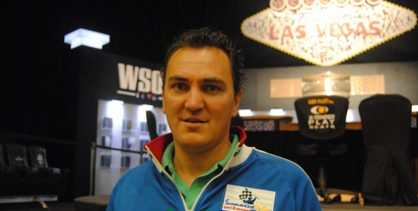 "WSOP 2012 – Fabio Coppola: ""Ho imparato il poker con Antonius e Minieri"""