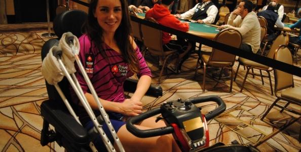 WSOP 2012 – Come si è rotta la caviglia Liv Boeree? Vanessa Rousso ne sa qualcosa?