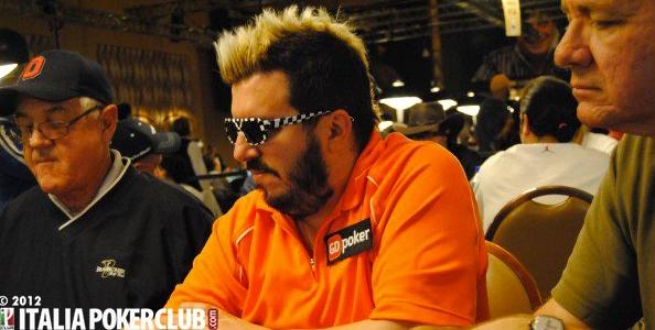 WSOP 2012 – Max Pescatori out dall'Evento #22: per quest'anno niente più 2 to 7