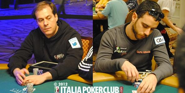WSOP 2012 – Dario Alioto vs Flavio Ferrari Zumbini: il teorema di Morton nel Limit Hold'Em
