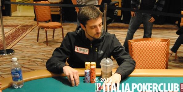 WSOP 2012 – Andrea Dato va per i massimi al torneo dei duri!