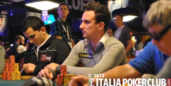 """WSOP 2012 – Alessio Isaia e il double up della noia: """"Che palle questo Main!"""""""