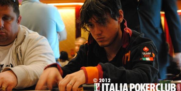 Dario Minieri e Salvatore Bianco al Day2 del Pot Limit 5.000$