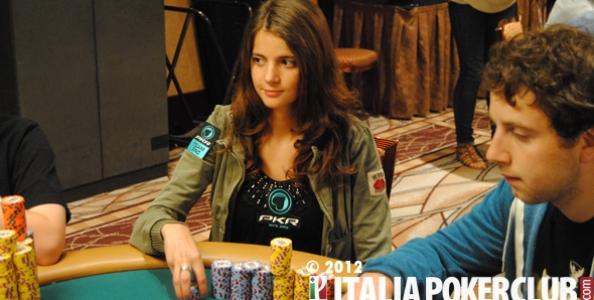 WSOP 2012 – Luca Moschitta segue la fidanzata Sofia Lövgren