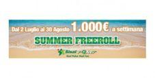 Gioca ai Summer Freeroll di Sisal Poker: in palio 1.000 euro a settimana!