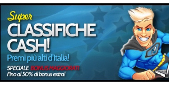 BetPro: al via le nuove classifiche dedicate al cash game!