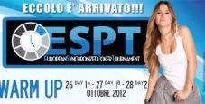 Segui l'ESPT Warm Up in diretta da Malta!
