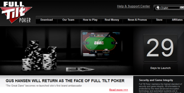 Full Tilt Poker: conto alla rovescia per la riapertura!
