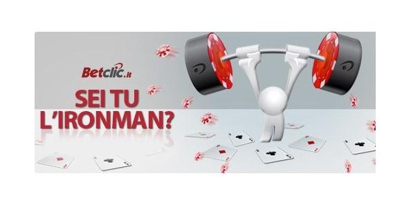 Su Betclic in palio 2.000 euro: dimostra di essere tu l'ironman!