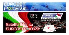 Gioca i Satelliti per l'IPT Campione su Eurobet Poker!