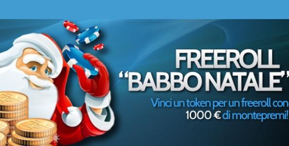 Freeroll Babbo Natale su BetPro: 1000 € di montepremi!