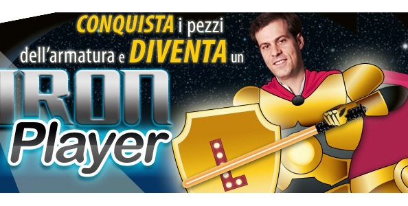 Diventa Iron Player su Glaming Poker: in palio poker bonus e gadgets!