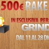 Rake Race da 500€ su Glaming Poker!