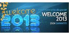 """Gioca il """"Welcome 2013"""" su BetPro: in palio 250.000 euro garantiti!"""