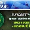 Dirty Dozen su Eurobet Poker: in palio un jackpot di 1000 euro per i Sit&Go!