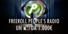 Freeroll People's Radio: quando un like vale 1.000 euro!